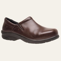 Women's Timberland Brown Alloy Safety Toe Clog