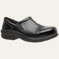 Women's Timberland Black Alloy Safety Toe Clog