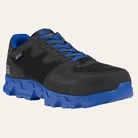 Men's Black/Blue Alloy Safety Toe SD Athletic