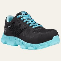 Women's Timberland Black/Blue SD Alloy Safety Toe Athletic