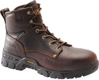 Men's Carolina Brown Composite Toe Waterproof  6 Inch Boot