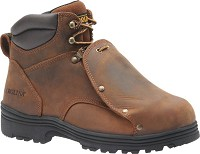 "Mens Carolina Brown 6"" External Metatarsal Guard Boot"