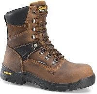 Men's Brown Carolina Composite Toe Waterproof 8 Inch Boot