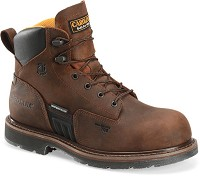 Men's Copper Crazy Horse  Carolina Composite Toe Waterproof 6 Inch Boot