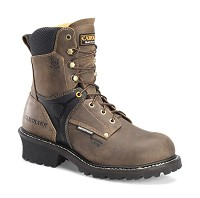 "Men's Carolina Composite Toe  8"" Waterproof Logger"
