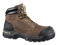 Carhartt Dark Brown Waterproof 6inch Composite Toe Boot