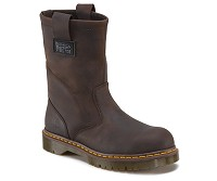 Men's Dark Brown Icon Steel Toe EH Wellington