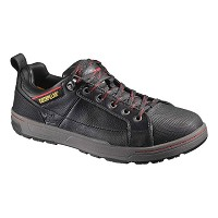 Men's Caterpillar Brode Black Steel Toe Shoe