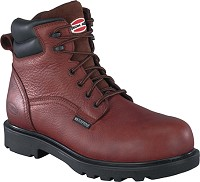 "BROWN EH WP 6"" COMP TOE WORK BOOT"