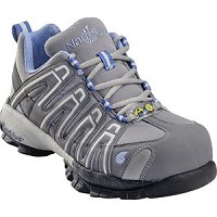 Women's Nautilus Grey/Periwinkle Composite Toe SD