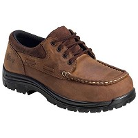 Men's Nautilus Brown EH Composite Toe Oxford